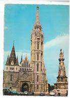 Ungheria Budapest  Mátyás Templom Matthias Curch Non Viaggiata Condizioni Come Da Scansione - Ungheria