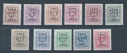 PRE55 ** (725/735)   Cote 14.00 - Typo Precancels 1951-80 (Figure On Lion)
