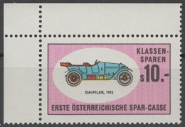 DAIMLER Oldtimer Oldsmobile Auto Veteran Car Automobile AUSTRIA Erste Bank Sparkasse Savings  LABEL CINDERELLA VIGNETTE - Coches