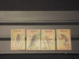NEVIS - 1989 INSETTI  4 VALORI - NUOVI(++) - St.Kitts E Nevis ( 1983-...)