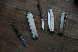 Portugal  Knives  Several Vintage - Miniatures