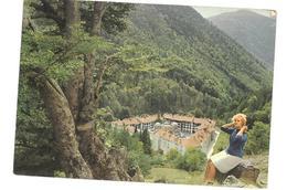 Bulgaria  Monastère De Rila Rila-Kloster Viaggiata 1967 Condizioni Come Da Scansione - Bulgaria