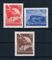 Jugoslawien 1949 UPU Mi.Nr. 578/80 Kpl. Satz ** - Neufs