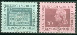 DDR 733/34 O Tagesstempel - Gebraucht