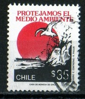 Chili 1990 Protection Des Milieux / Protejamos El Medio Ambiante  35 Escudos - Chili