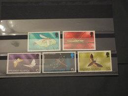 PITCAIRN - 1975 INSETTI  5 VALORI - NUOVI(++) - Francobolli
