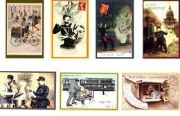 France - 2014 2015- 7 FEUILLETS GOMMES - VIGNETTES PHILAPOSTE - NEUFS - Sheetlets