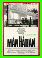 "AFFICHES DE FILM -  "" MANHATTAN "" FILM DE WOODY ALLEN AVEC DIANE KEATON, MICHAEL MURPHY, MERYL STREEP - - Affiches Sur Carte"