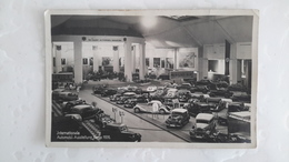CARTE PHOTO - BERLIN 1936 - INTERNATIONALE AUTOMOBIL AUSSTELLUNG - MERCEDES BENZ - AUTOMOBILE VOITURE - Germany
