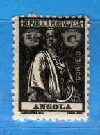 (Us.3) ANGOLA - °1913-21 - Cérès  Angola, Yvert  143A. Used . Vedi Descrizione - Angola