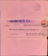 1947-Italia M.E.F. Modulo Anagrafico Da Riposto Ad Asmara Affrancato L.1+L.2 Democratica E Rispedizione Avvenuta Con Aff - Occup. Britannica MEF