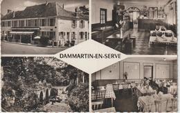 Yvelines : DAMMARTIN  En   SERVE  : Vues  1957 - Autres Communes