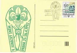 32693. Tarjeta PRAHA (Checoslovaquia) 1992. SCOUTS. Junacky Snem - Cartas