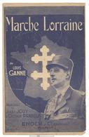 """Partition """" Marche Lorraine """" - Dokumente"""