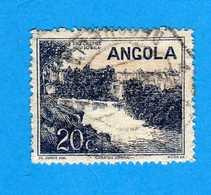 (Us.3) ANGOLA -° 1949 - Tourisme, Yvert  313. Used . Vedi Descrizione - Angola