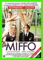 "AFFICHES DE FILM -  "" MIFFO "" FILM DE DANIEL LIND IN 2003 - AVEC LIVIA MILLHAGEN & JONAS KARLSSON - - Affiches Sur Carte"