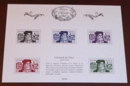 France - 2016 - N°Yv. BS29 - Trésors / Léonard De Vinci - Neuf Luxe ** / MNH / Postfrisch - Arte