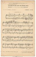 """Partition """" Verdun ! On Ne Passe Pas """" - Arrangé Harmonie Ou Fanfare - Dokumente"""