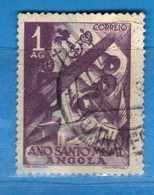 (Us.3) ANGOLA -° 1950 - Année SANTE, Yvert  326. Used . Vedi Descrizione - Angola