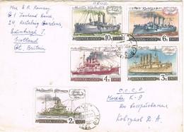 32695. Carta MOSCU (Russia) 1972. Ships Stamp. Barcos - 1923-1991 URSS