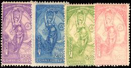 Brazil 1933 Pres.Justo Mounted Mint. - Brazilië