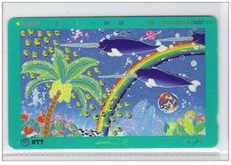 Carta Telefonica Giappone - Cartoon 1  -  Carte Telefoniche@Scheda@Schede@Phonecards@Telecarte@Telefonkarte - Japan