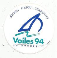 Autocollant , Sports , Voile 94 , LA ROCHELLE - Aufkleber