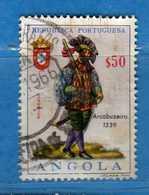 (Us.3) ANGOLA -° 1966 - Uniformes Militaires, Yvert  . Used . Vedi Descrizione - Angola