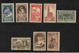 France Timbres De 1939  N°440 A 447  Neufs ** Sans Charniére (cote + De 64€) - Frankreich