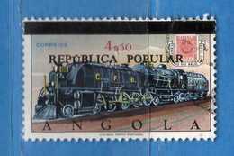 (Us.3) ANGOLA -° 1970 - Timbre Angola, Yvert 575.  Surchargé . Used . Vedi Descrizione - Angola