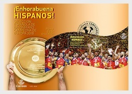Spain 2018 - Champions - Spain National Handball Team FDC - 1931-Aujourd'hui: II. République - ....Juan Carlos I