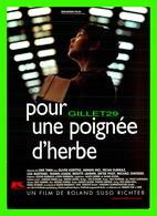 """AFFICHES DE FILM -  """" POUR UNE POIGNÉE D'HERBE """" FILM DE ROLAND SUSO RICHTER EN 2000 - - Affiches Sur Carte"""