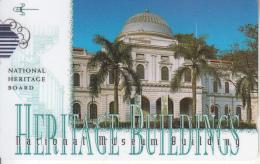 SINGAPORE(GPT) - Heritage Buildings/National Museum, CN : 147SIGC, Used - Landschaften