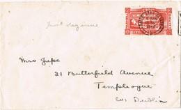 32701. Carta BAILE ATHA CLIAT (Dublin) Eire 1946. F.D.C. Parnell Davitt - 1937-1949 Éire