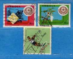 (Us.3) ANGOLA -° 1962-1980 - , Yvert . 439 - 628-629. . Used . Vedi Descrizione - Angola