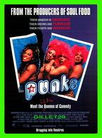 """AFFICHES DE FILM -  """" PUNKS """" MEET THE QUEENS OF COMEDY - GO-CARD - - Affiches Sur Carte"""