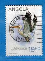 (Us.3) ANGOLA - ° 1984 - Faune Oiseaux, Yvert 689D. Used - Usati.  Vedi Descrizione - Angola