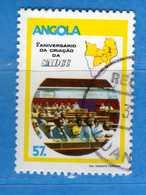 (Us.3) ANGOLA - ° 1985 - SADCC, Yvert 698. Used - Usati.  Vedi Descrizione - Angola