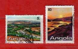 (Us.3) ANGOLA - ° 1987 - TOURISME, Yvert. 743-744. Used - Usati.  Vedi Descrizione - Angola