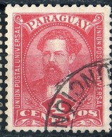 Paraguay 1892 JB Gill 4c Red   N° 31 - Paraguay
