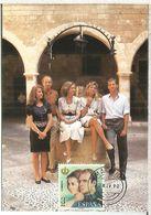 MADRID TARJETA FAMILIA REAL ROYAL FAMILY - Familias Reales