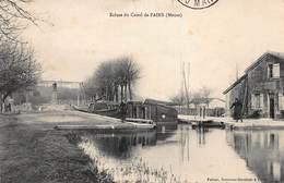 CPA Ecluse Du Canal De FAINS ( Meuse ) - France