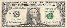 Etats-Unis (United States Of America) - Billet D' 1 Dollar (ONE DOLLAR) - Serie 1995 - Billet N° L57176266G - Billets Des États-Unis (1928-1953)
