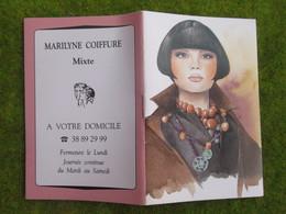 Calendrier De Poche 1995 MARILYNE COIFFURE Loiret - Calendars