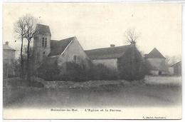 BOISSISE LE ROI - L'Eglise Et La Ferme - France