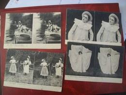 Lot De 15 Cartes Stéréoscopiques: Paris, Monaco, Scènes De Genre - Ansichtskarten