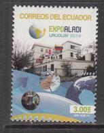 2014 Ecuador Expo  Complete Set Of 1 MNH @ BELOW FACE VALUE - Equateur