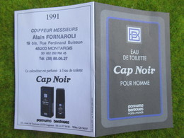 """Calendrier De Poche 1991 Coiffeur Messieurs """" Alain FORNAROLI """"  à Montargis Loiret - Calendars"""