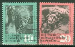 DDR 667/68 O Tagesstempel - Gebraucht