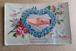 MARIAGE - UNION - FIANÇAILLES - Carte Allemande ( Noces ) - Marriages
